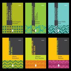 Colecciones de libros Indicio, Onírica y Trama para editorial Mirilla