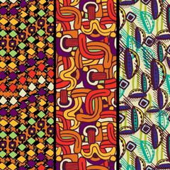 Colección de estampados de culturas prehispánicas